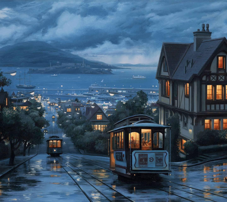 Sanfrancisco Rain HD