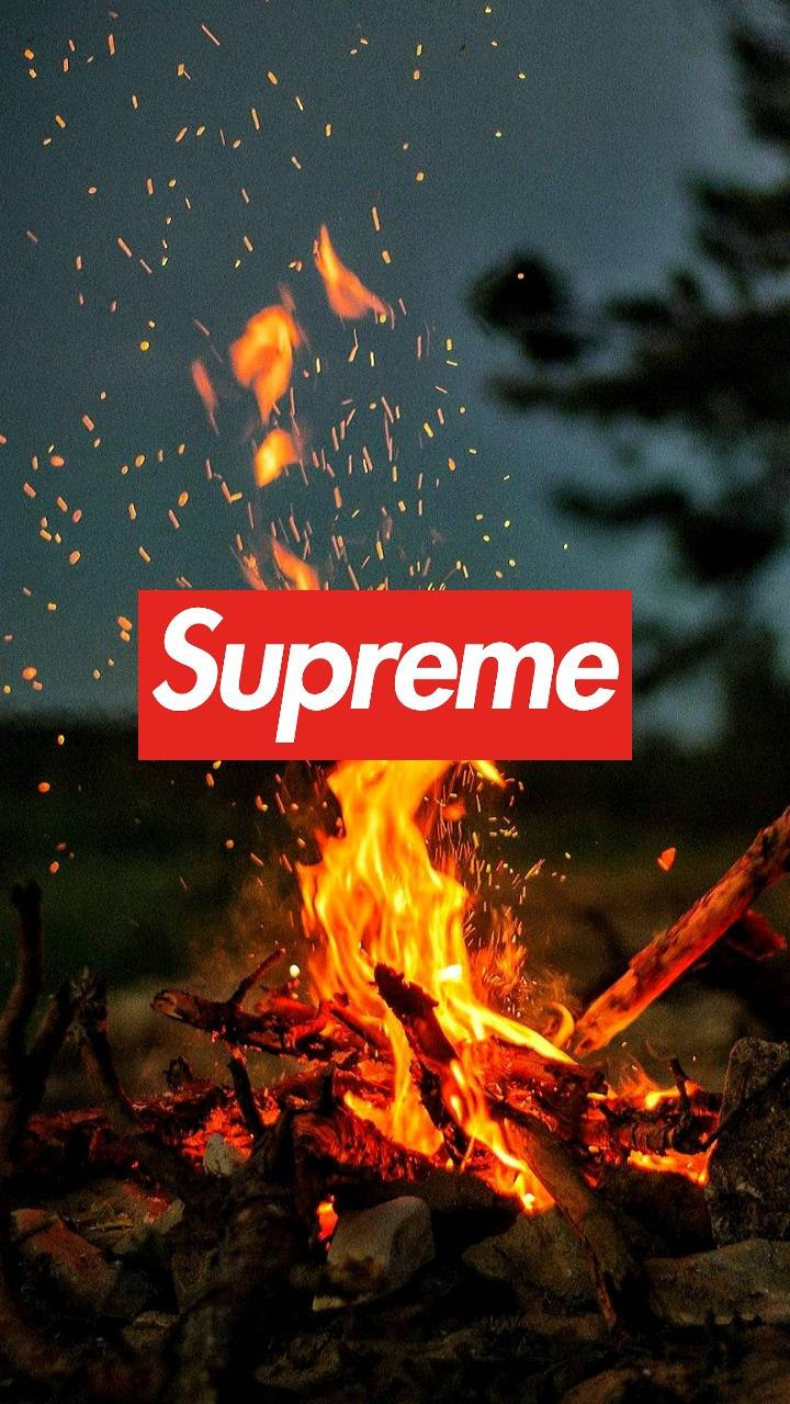 Supreme Fire Wallpaper By Shadicgam3r 97 Free On Zedge