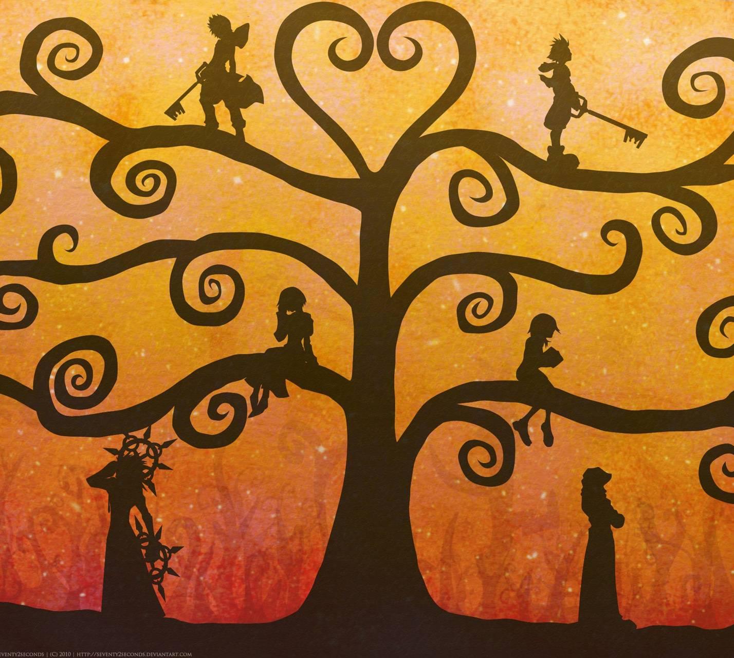 Kingdom Hearts Tree