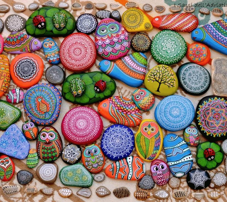 paints rocks