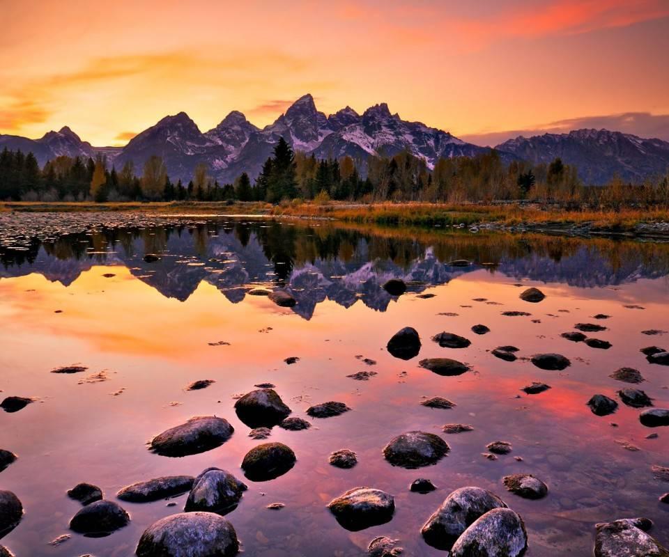 Sun Set Lake