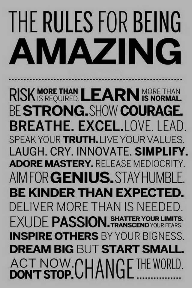 Amazing Rules