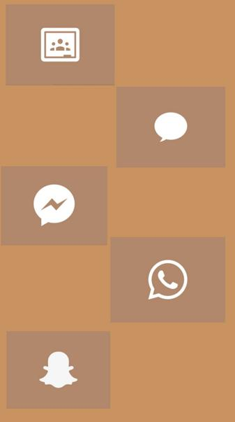 Brown icons 4
