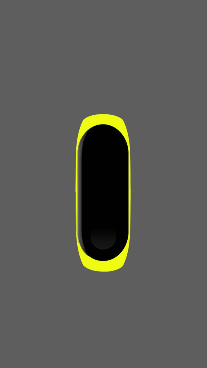 Mi Band 3 Yellow