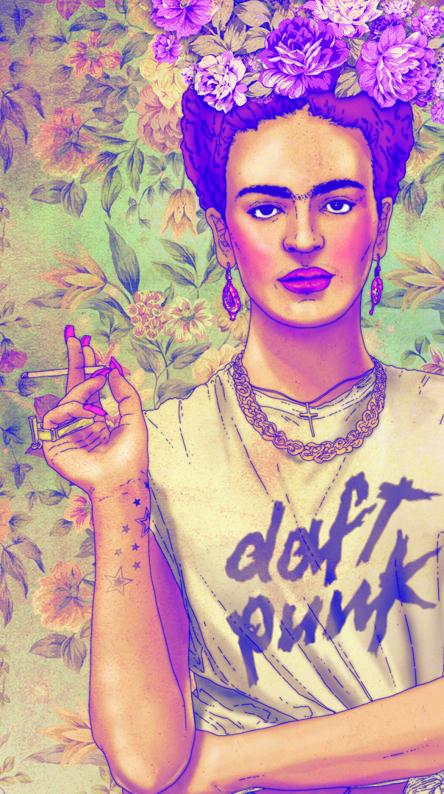 Hipster Frida Kahlo