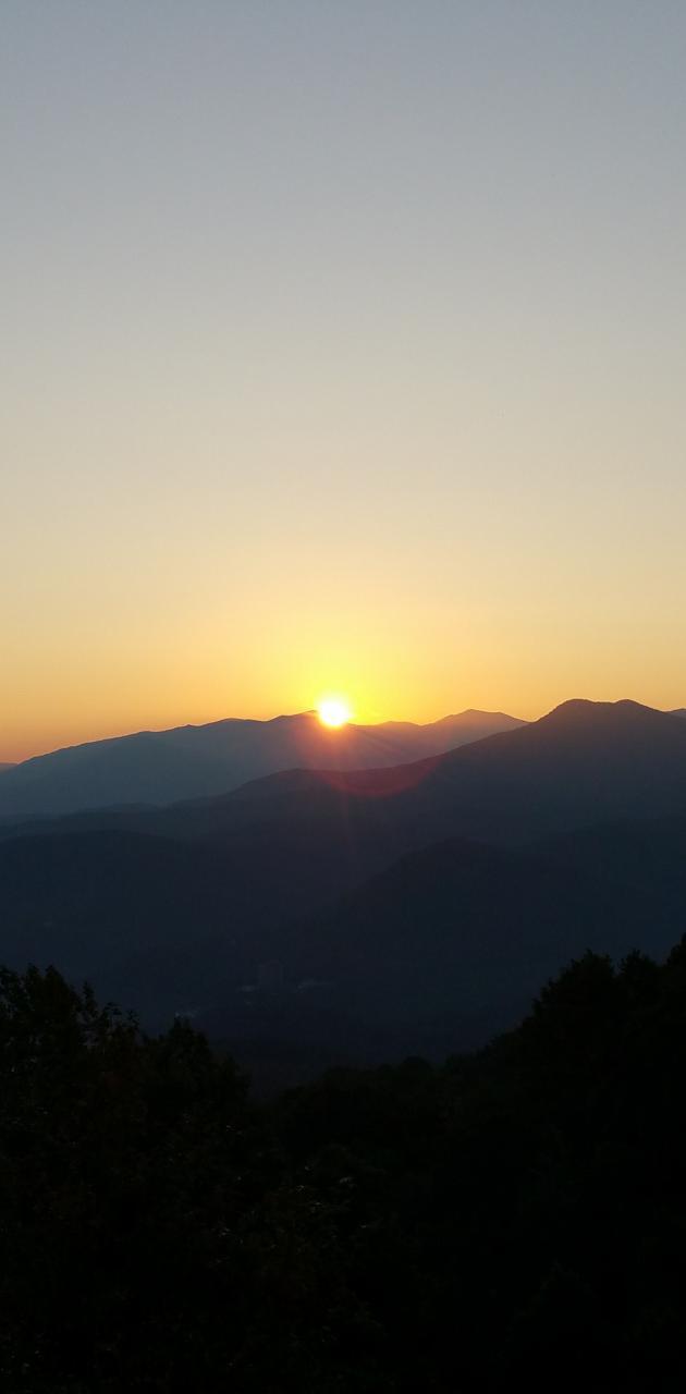 Smokey Mt sunrise