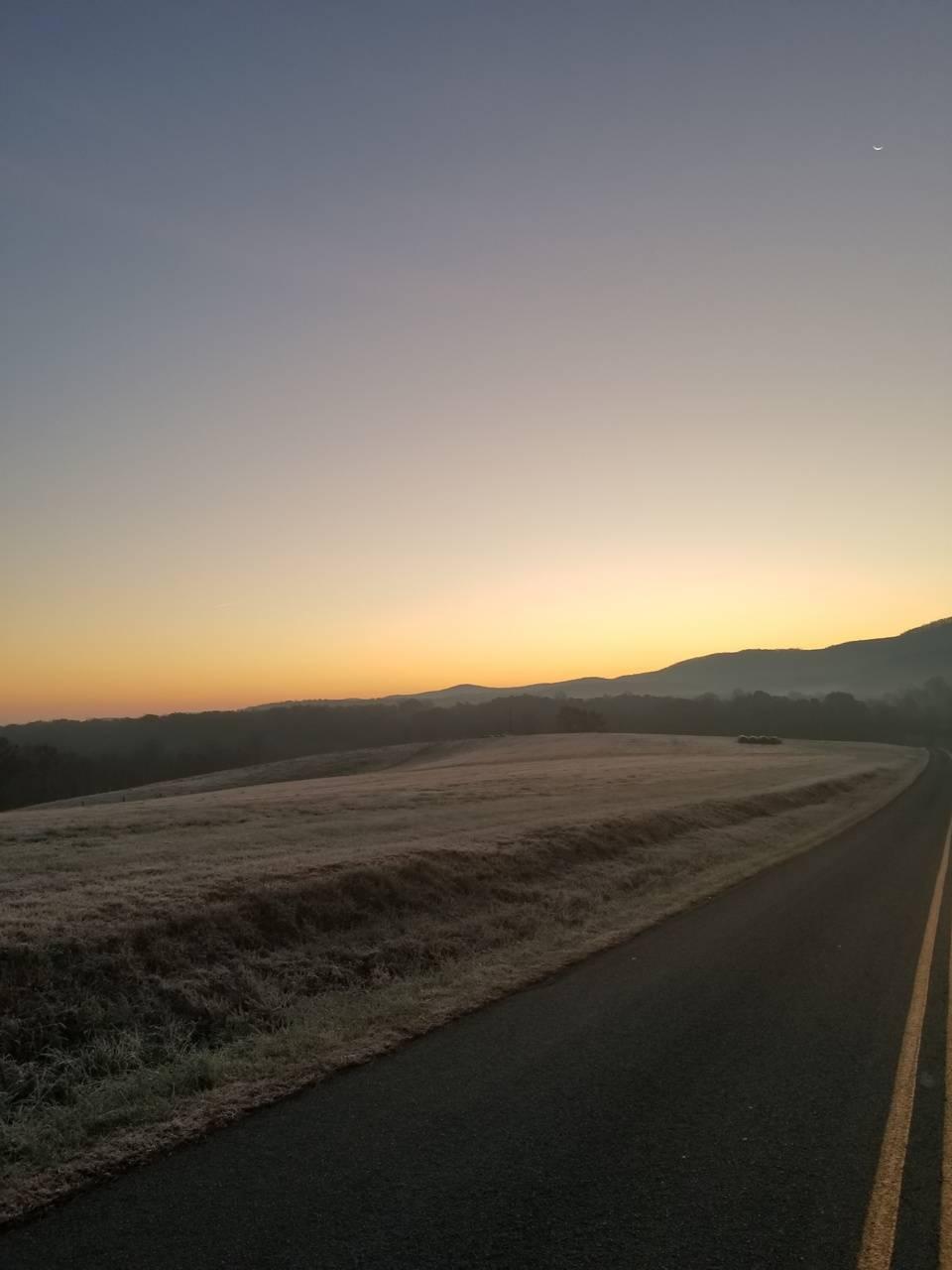 Sunrise frost