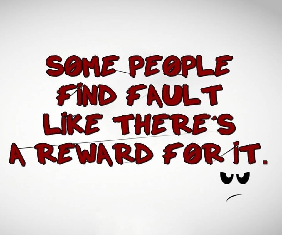reward for it