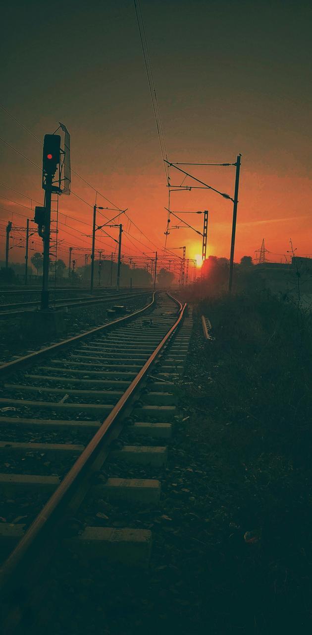 RAILWAY SUNRISE