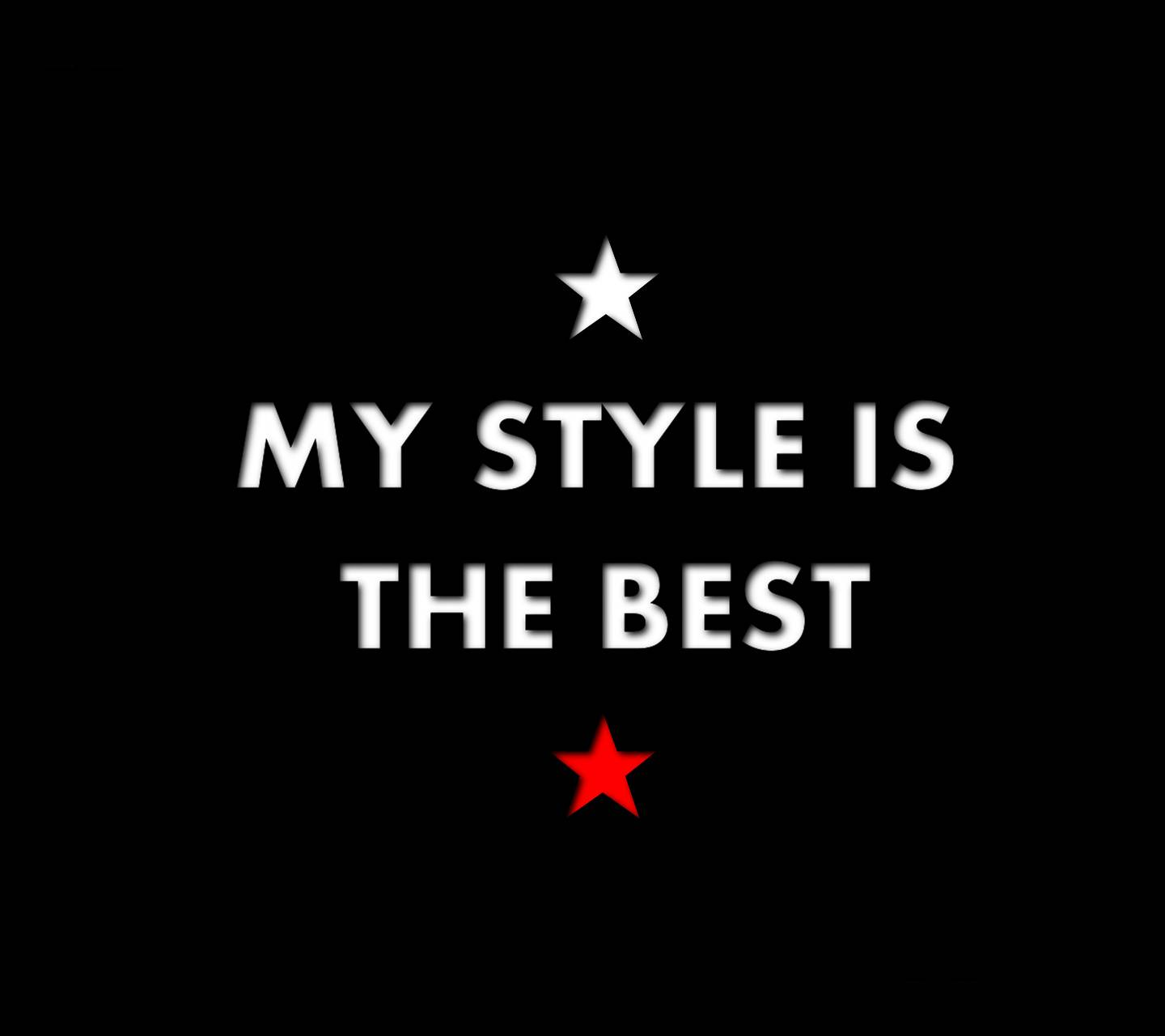 My Style is The Best