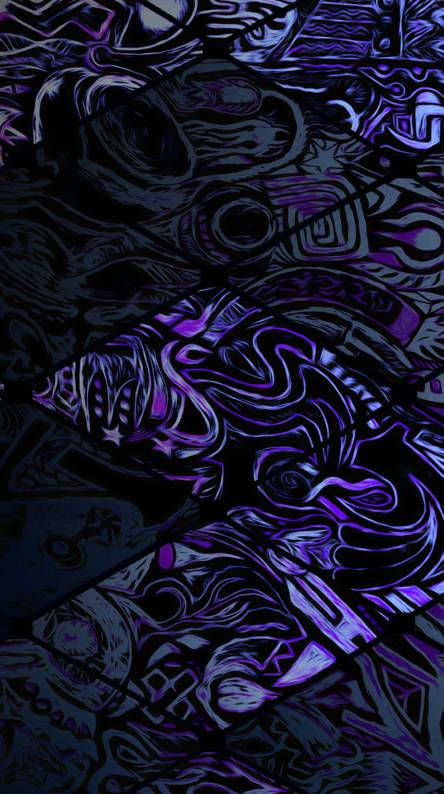 Zigzag Purple
