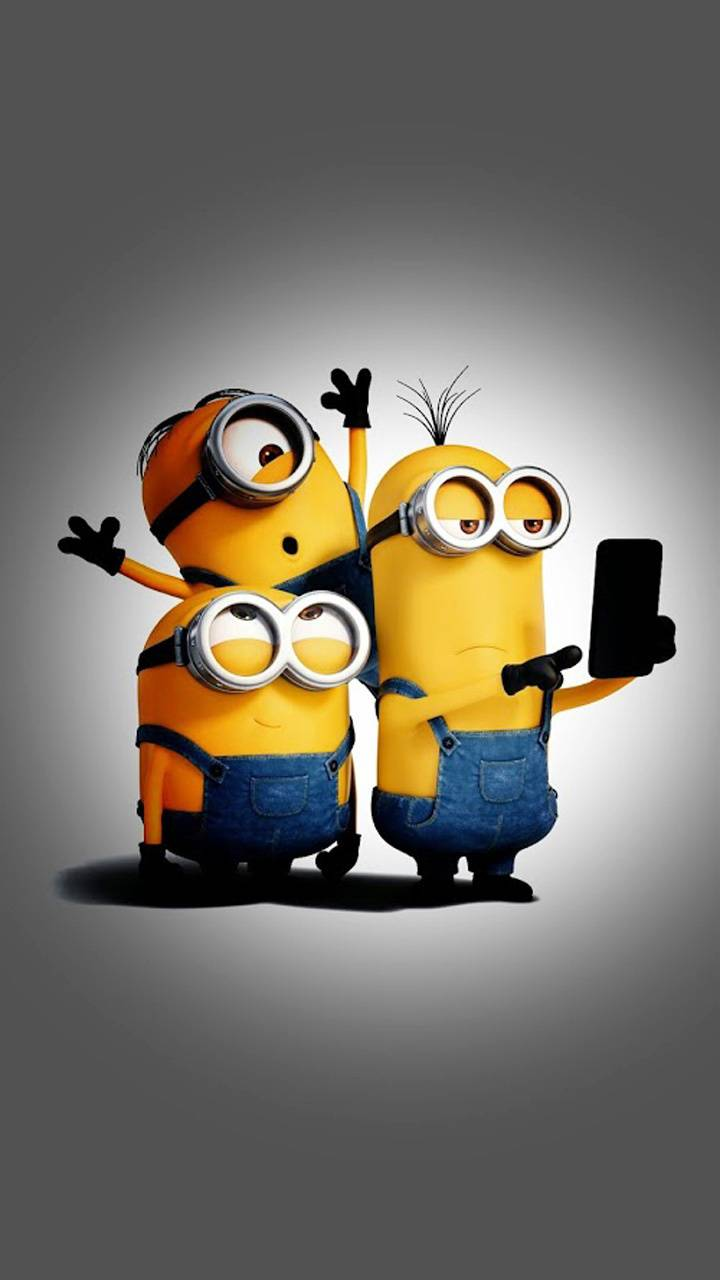 minions selfie time