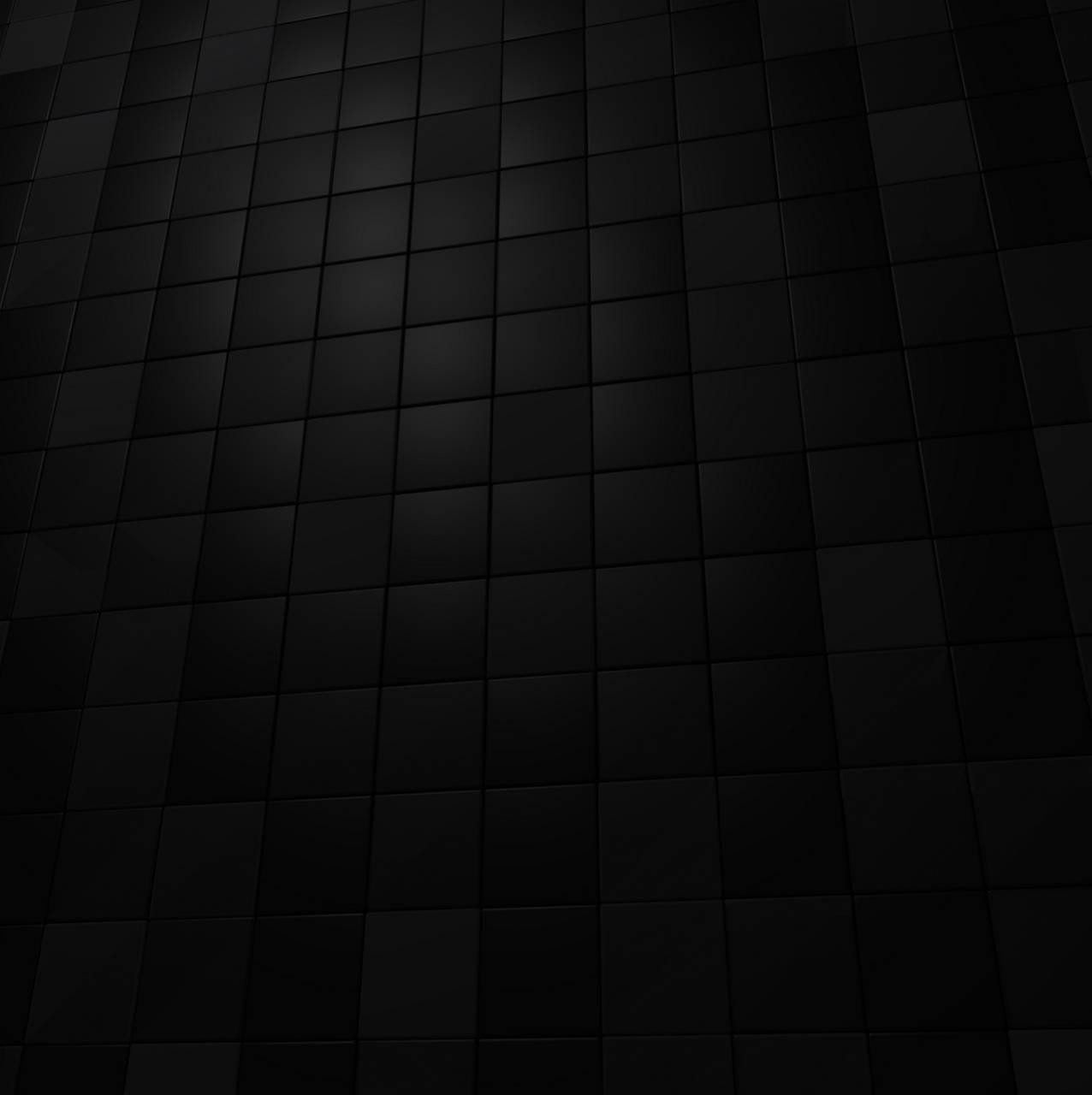 Black Cube Wall