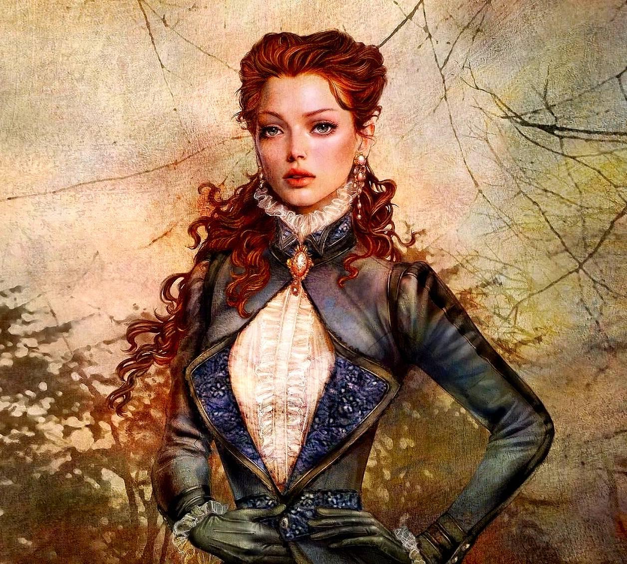 Fantasy Girl Portrai