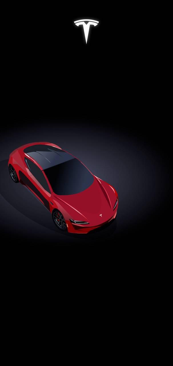 Tesla Roadster Wallpaper By Anonwayy 51 Free On Zedge