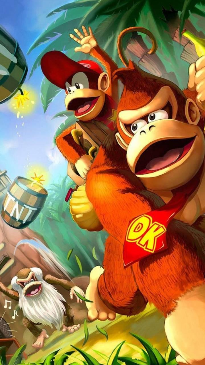 Donkey Kong Wallpaper By Sozone85 Ff Free On Zedge