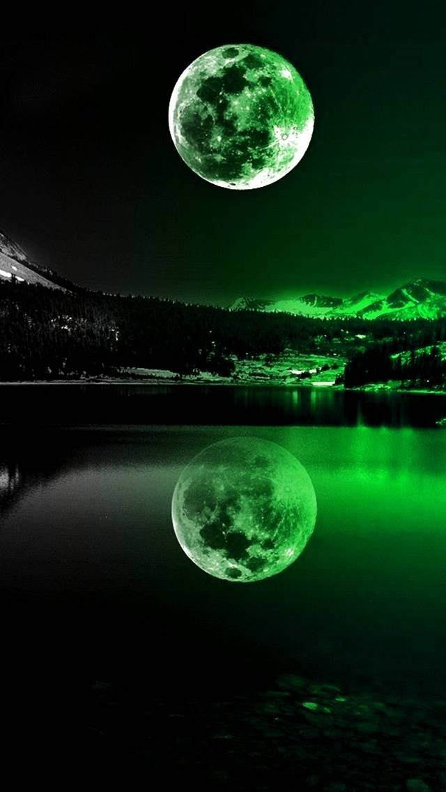 Green Moonlight