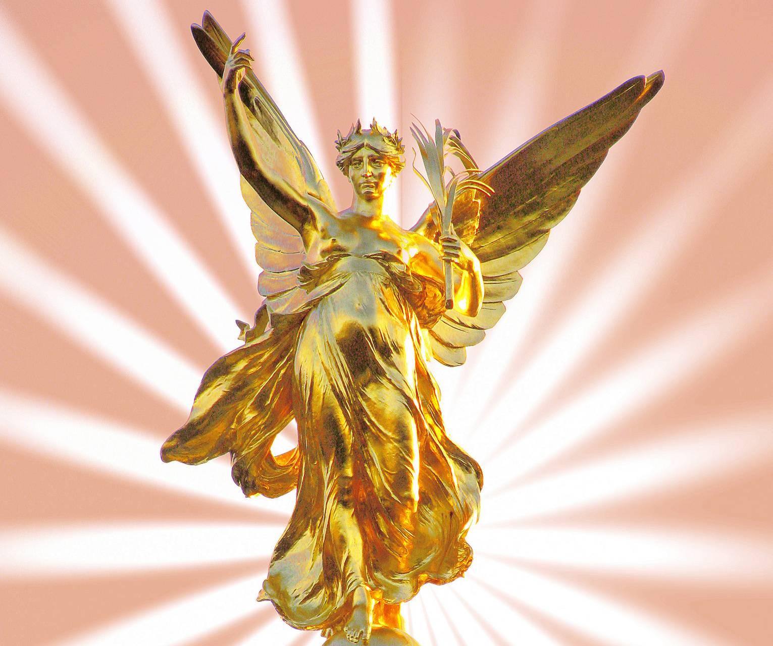 тем картинки золото ангелы модель
