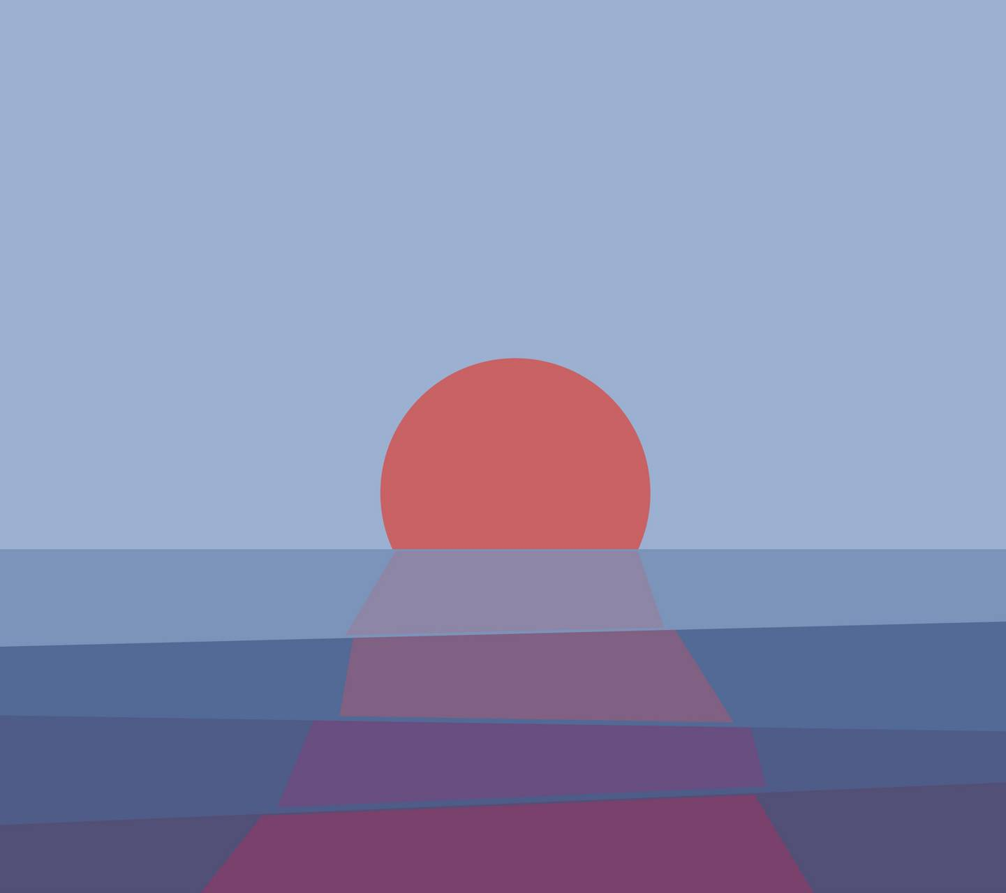 Abstract Sunset v2