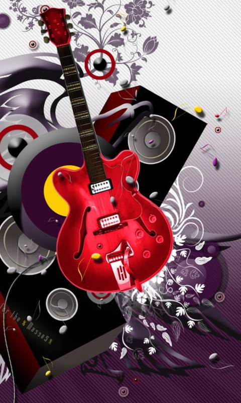 Abstract Guiter