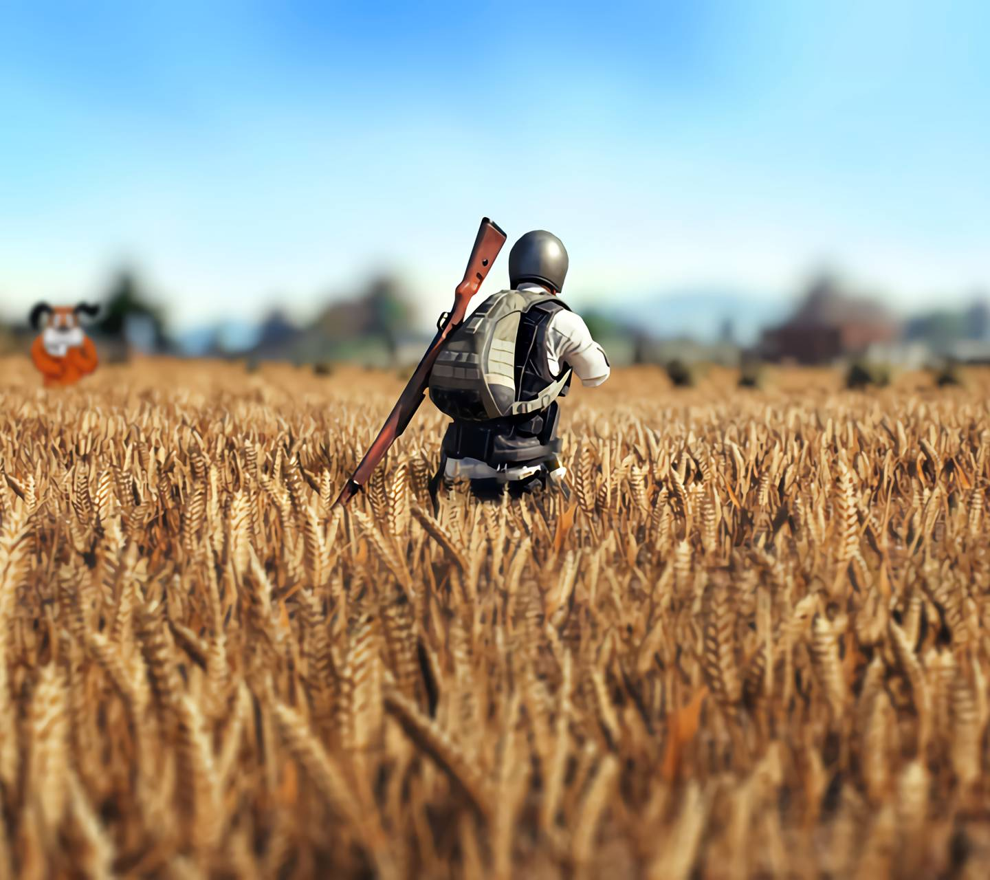 PUBG Wheatfield Wallpaper By Szalkai_s