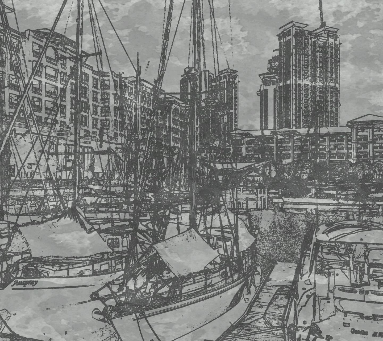 Harbour sketch