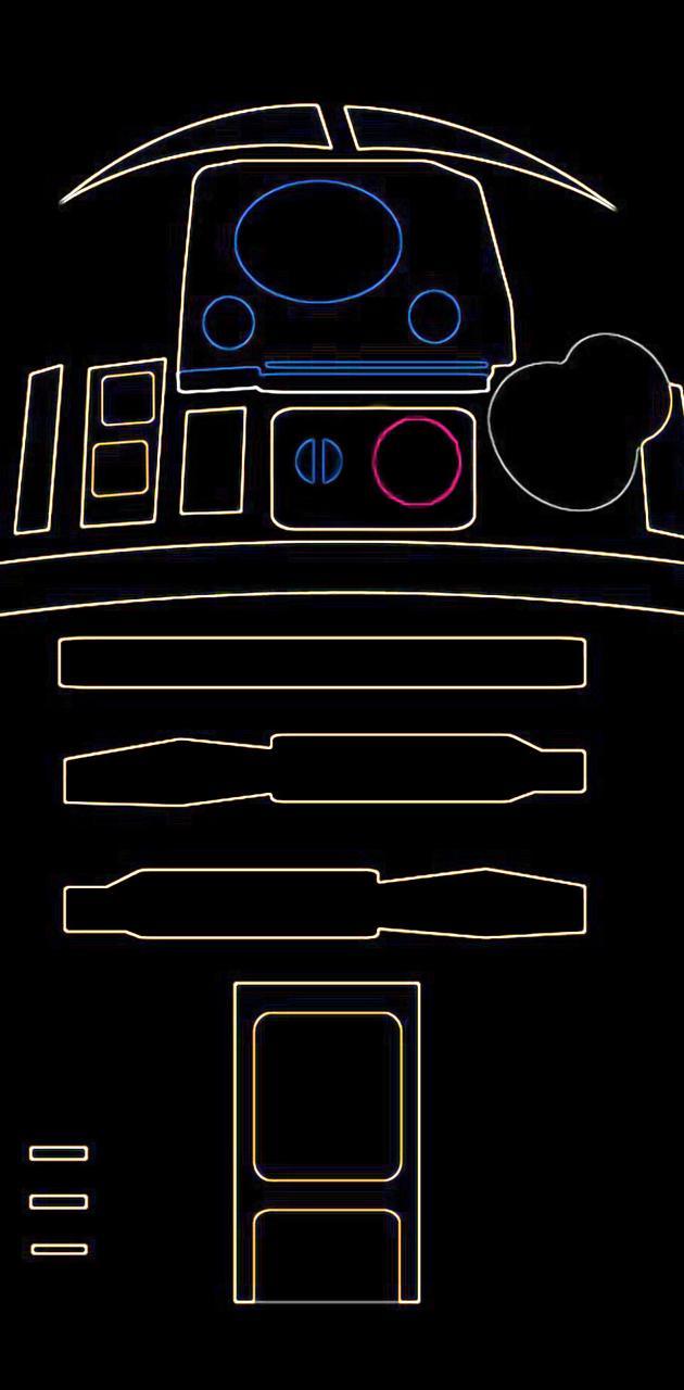 R2D2 neon