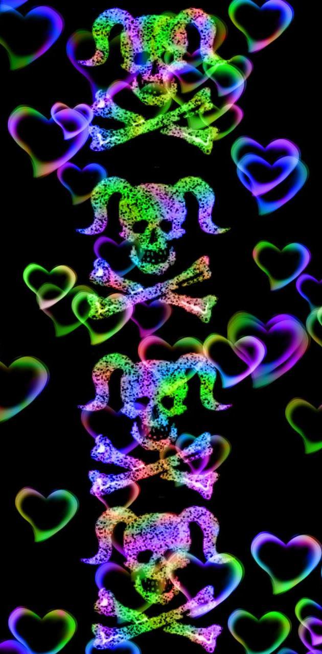 Girlie skulls