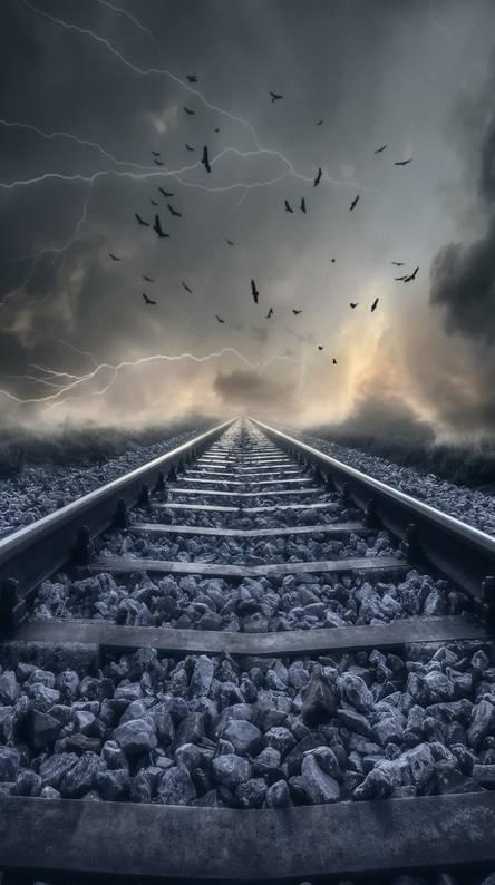 Railway Track. Railway