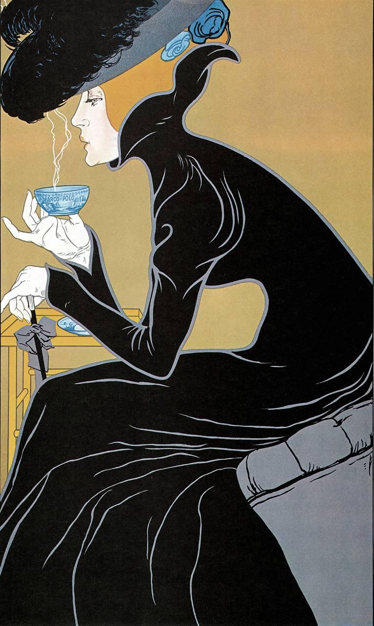 Tea Time Lady
