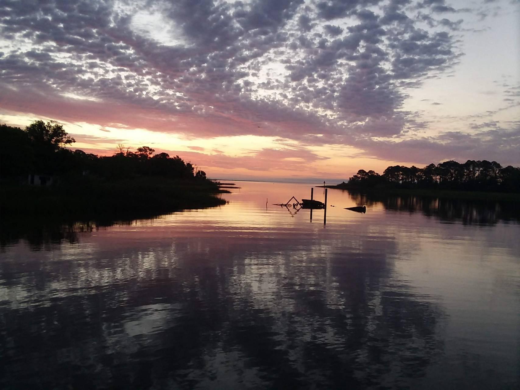 Water sunrise