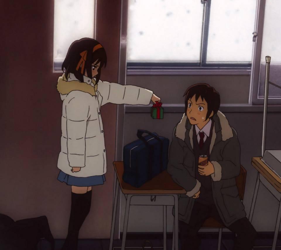 Kyon And Suzumiya