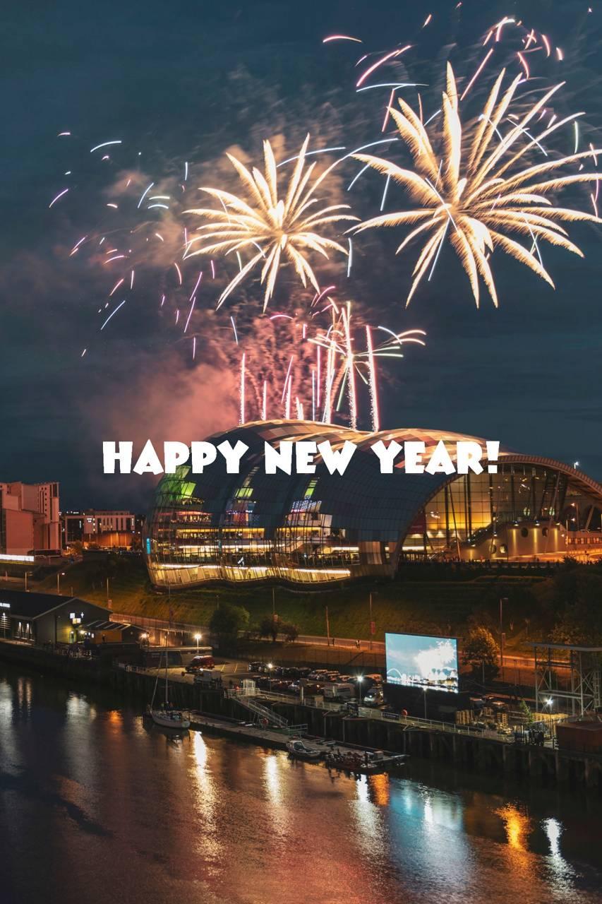 Happy New Year wallpaper by DLJunkie