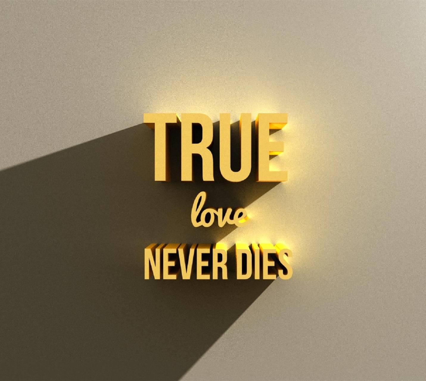 True Love never dies