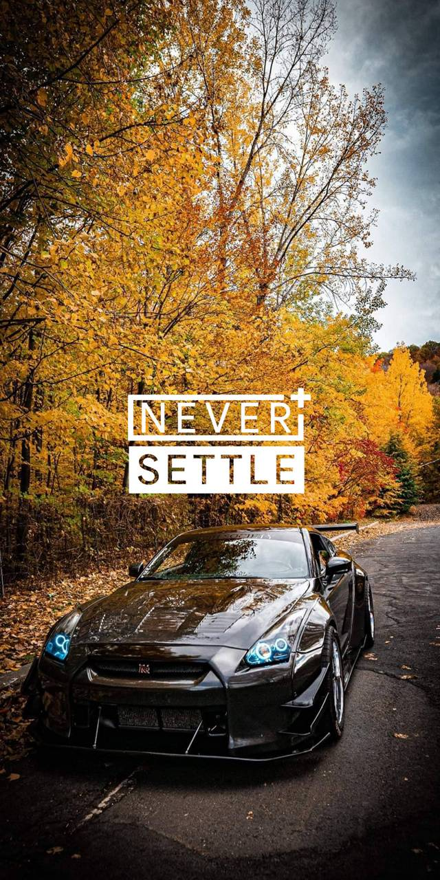 Never settle oneplus