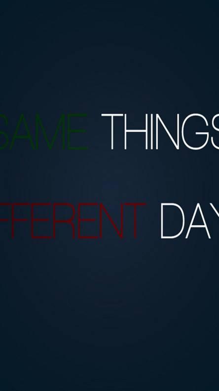 Same - Different