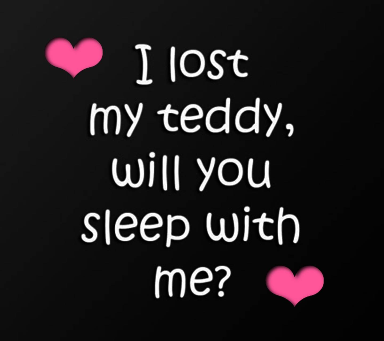 I Lost My Teddy