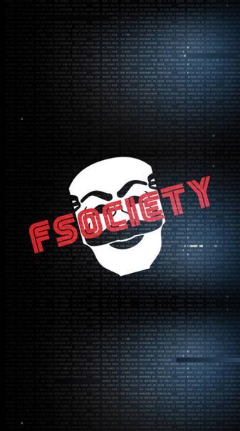 F Society Hack Wall