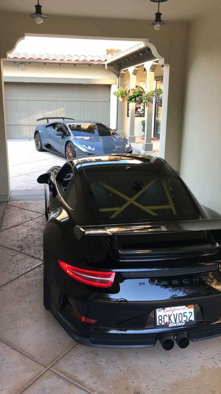 Rich mans garage