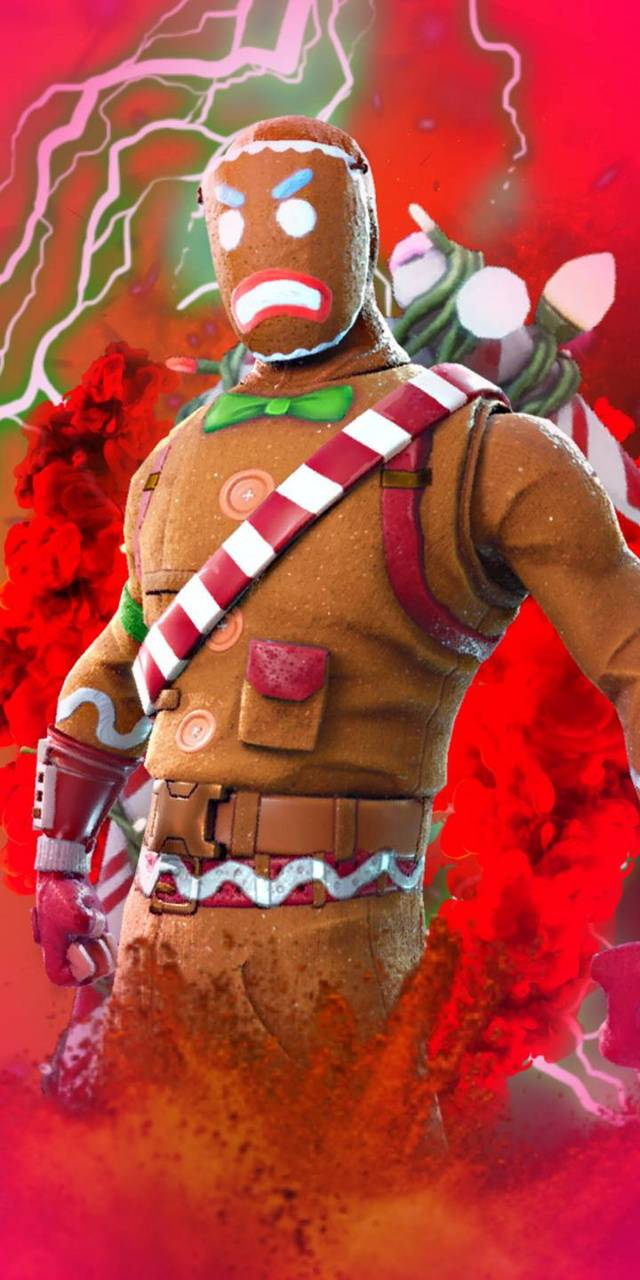 Fortnite Gingerbread wallpaper by FecklessAbandon - 9e ...