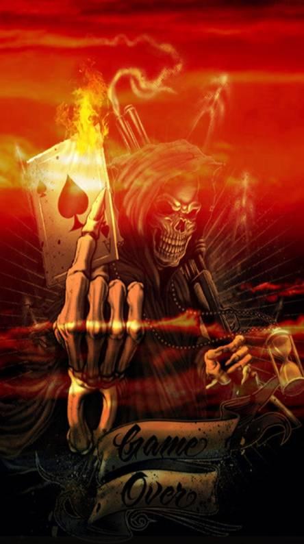 Reaper in hell
