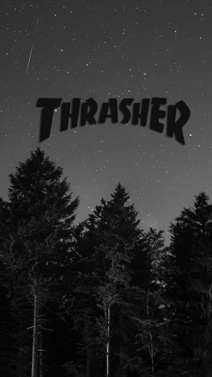 Thrasher Logo Wallpaper By Prybz