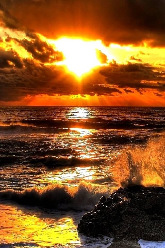 hd sunset beach
