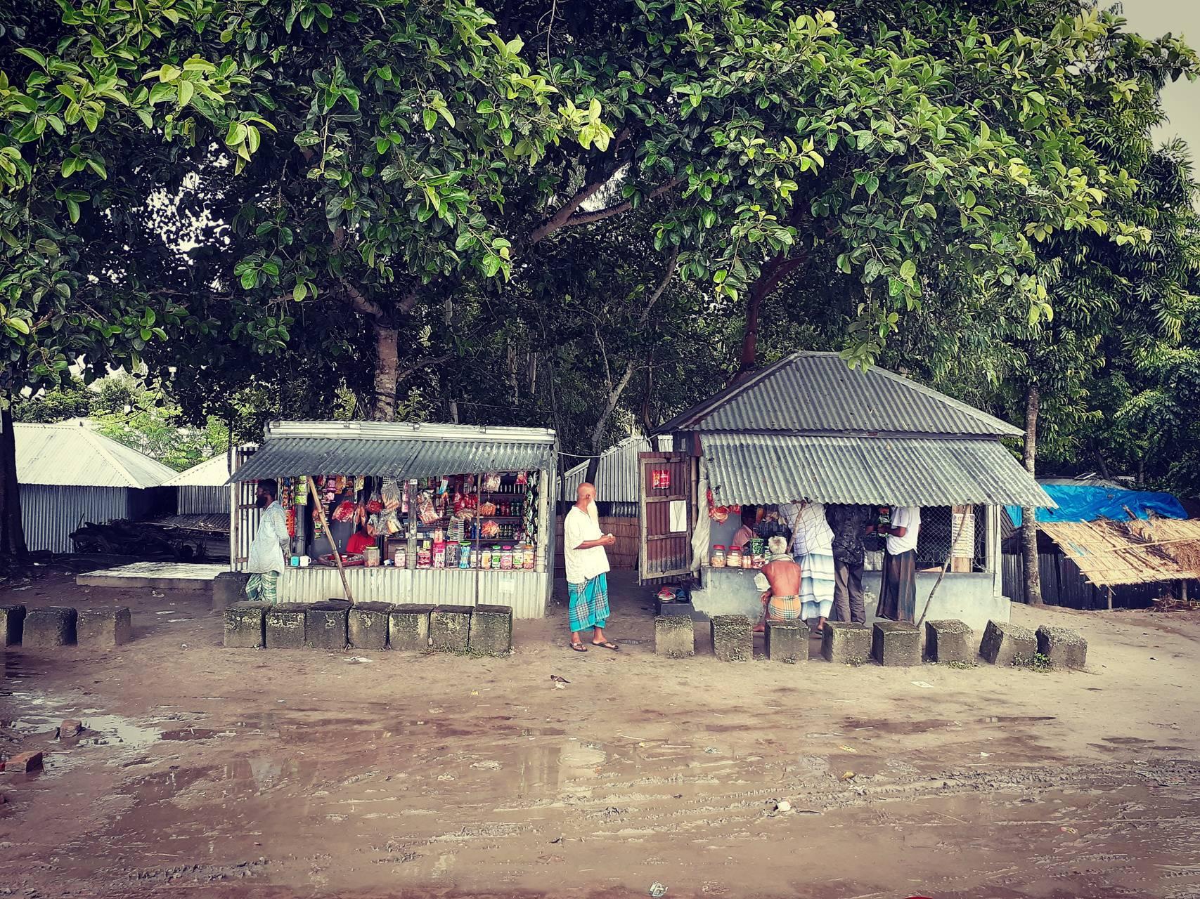 Village stalls