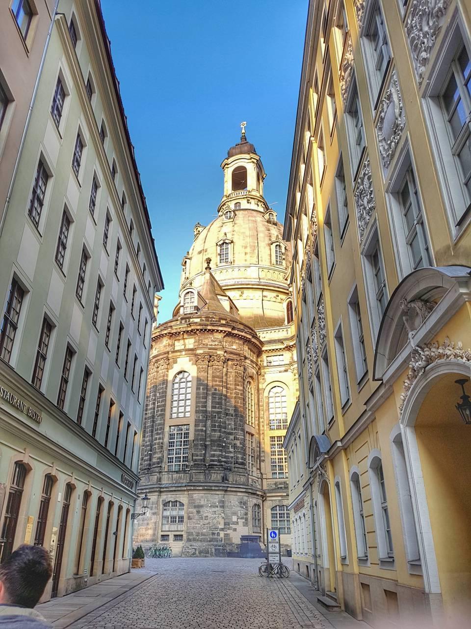 Street in Dresden