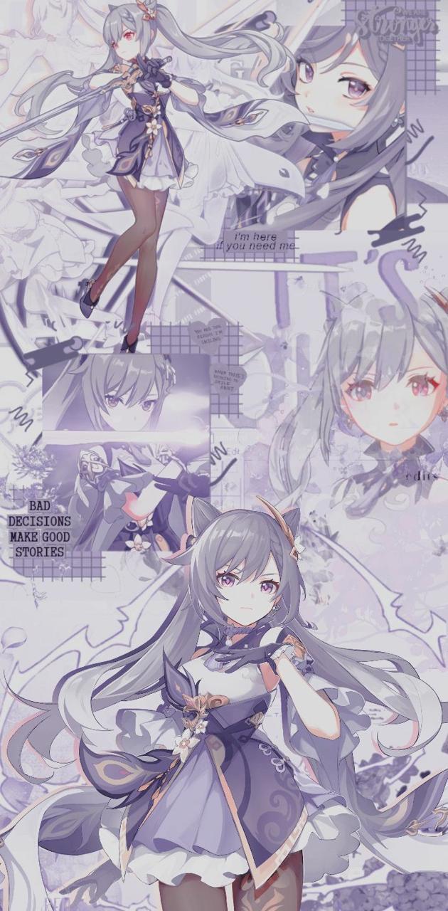 Keqing Wallpaper