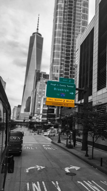 Downtown NYC Splash