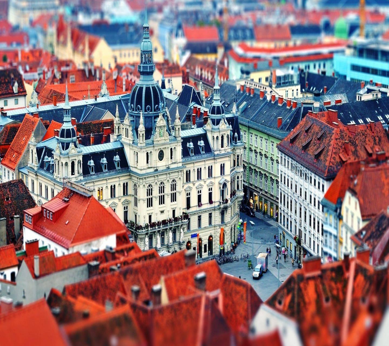 Graz roofs