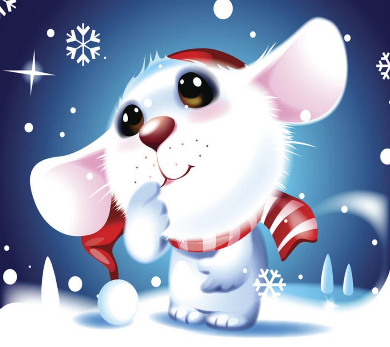Видом, картинки новый год мыши