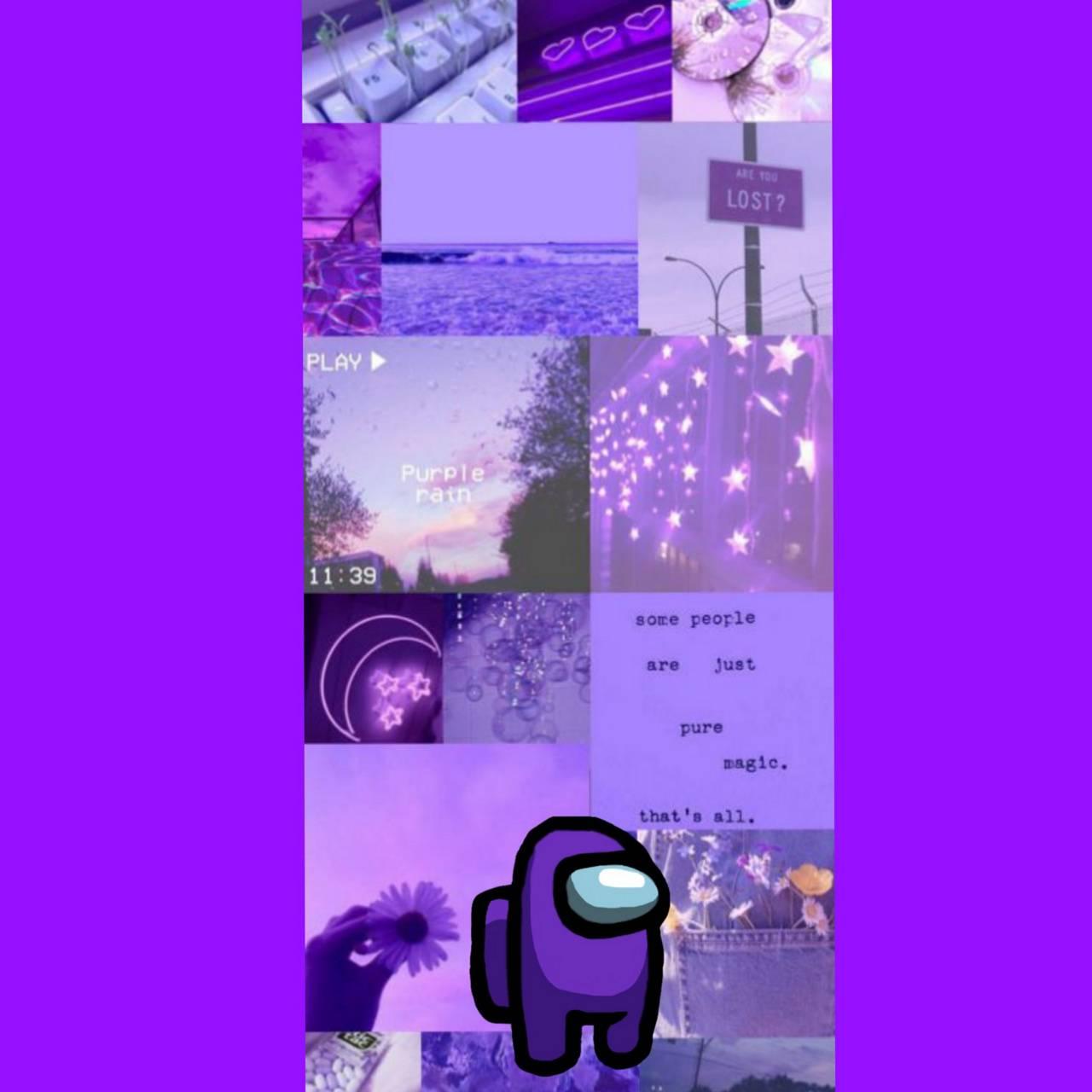 Among Us Purple Wallpaper By Doleba 2c Free On Zedge